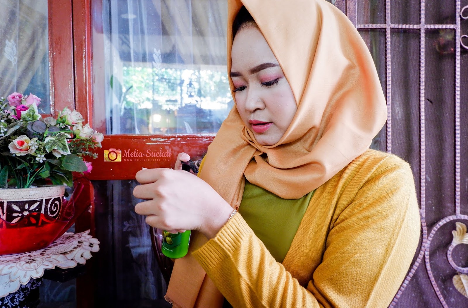 Review Herborist Body Lotion Zaitun