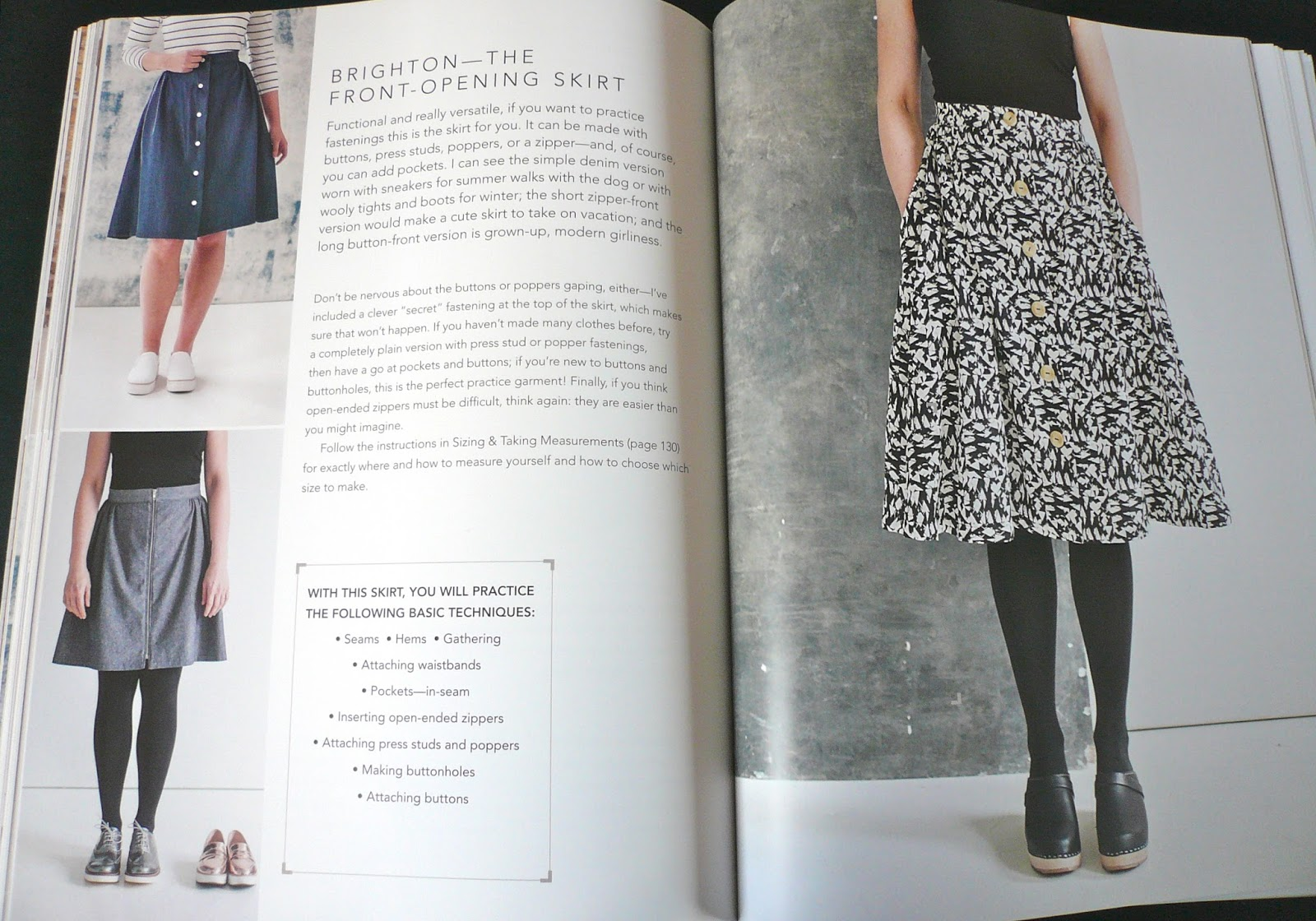 Handmade Jane: A Beginner's Guide to Making Skirts