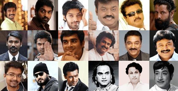 Tamil actors caste