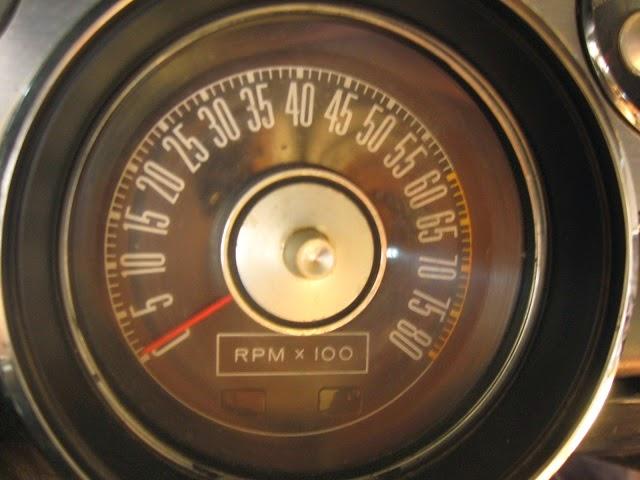 67 mustang 8000 rpm tach