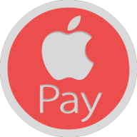 apple pay button outline