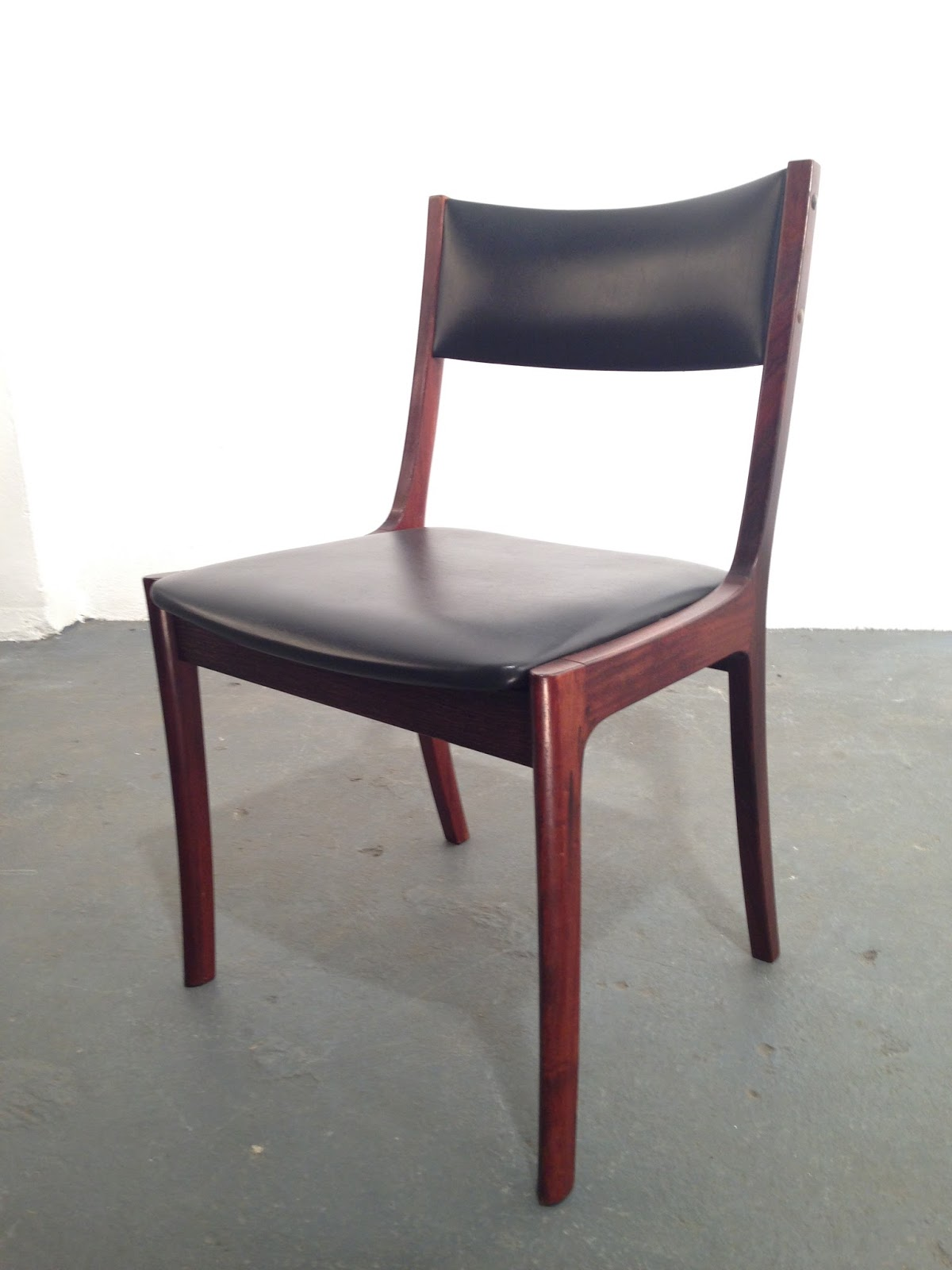 Retro Dining Chairs Ireland Mid Century Modern Rocking Chair Plans Ocd Vintage Furniture 1970s Rosewood