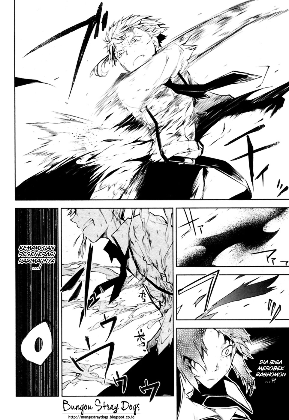 Bungou Stray Dogs Chapter 12-38