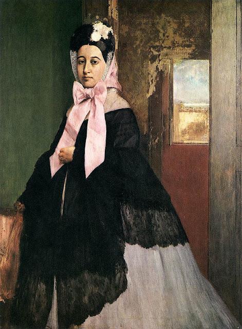 Edgar Degas - Thérèse Degas