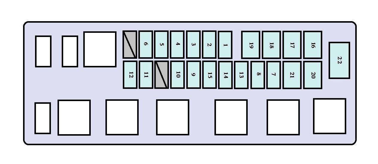 2000 Toyota Tundra Fuse Box Diagram  wiring diagrams