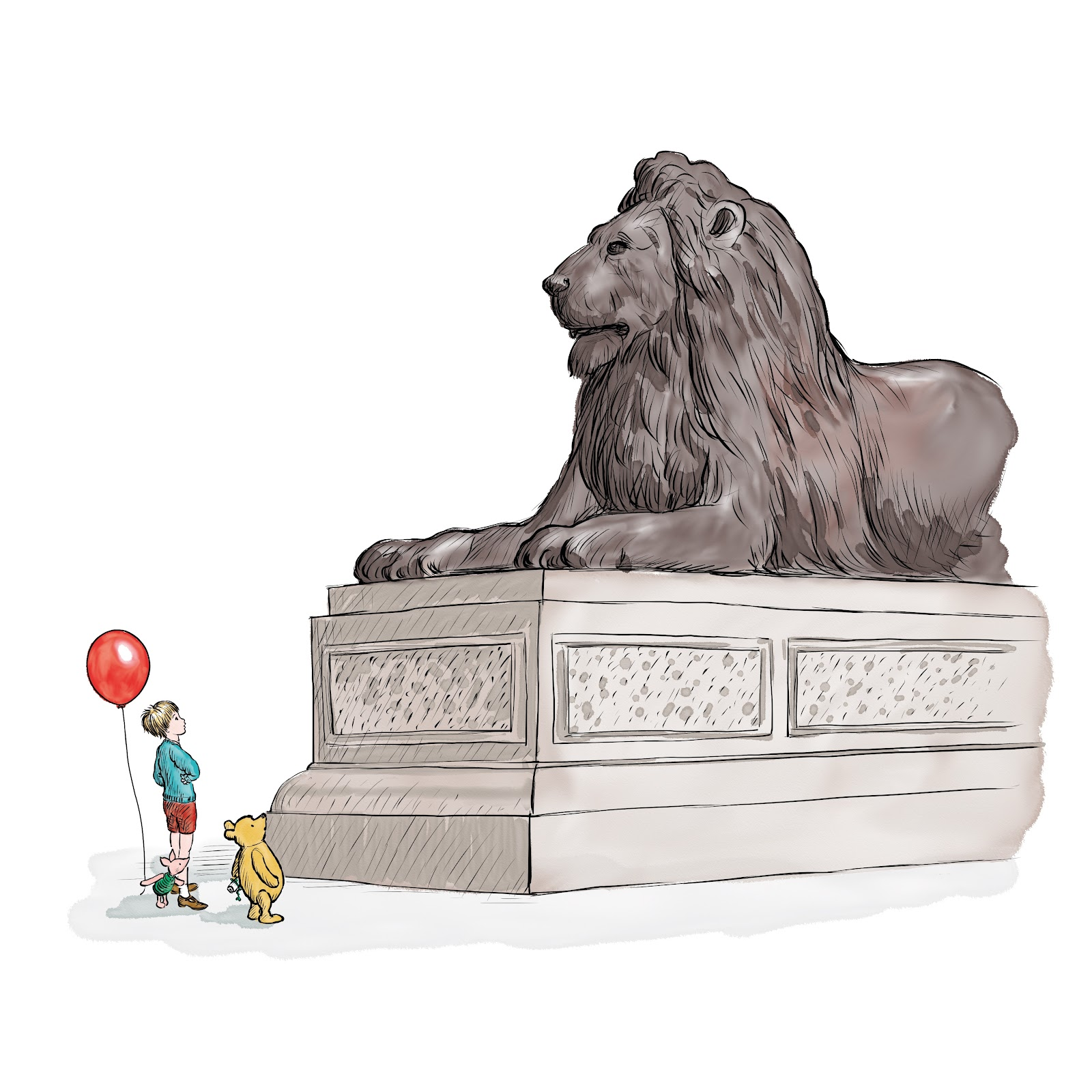 , Winnie the Pooh and the Royal Birthday – Free Illustrated EBook and Audio Adventure