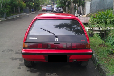Eksterior Honda Civic Wonder Hatchback