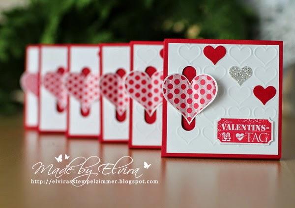 Stampin Up Geschenke zum Valentinstag