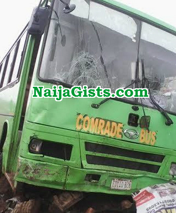 comrade bus fatal accident sapele
