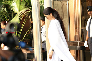 Actress Aishwarya Rai Father Prayer Meet Set 1  0039.JPG