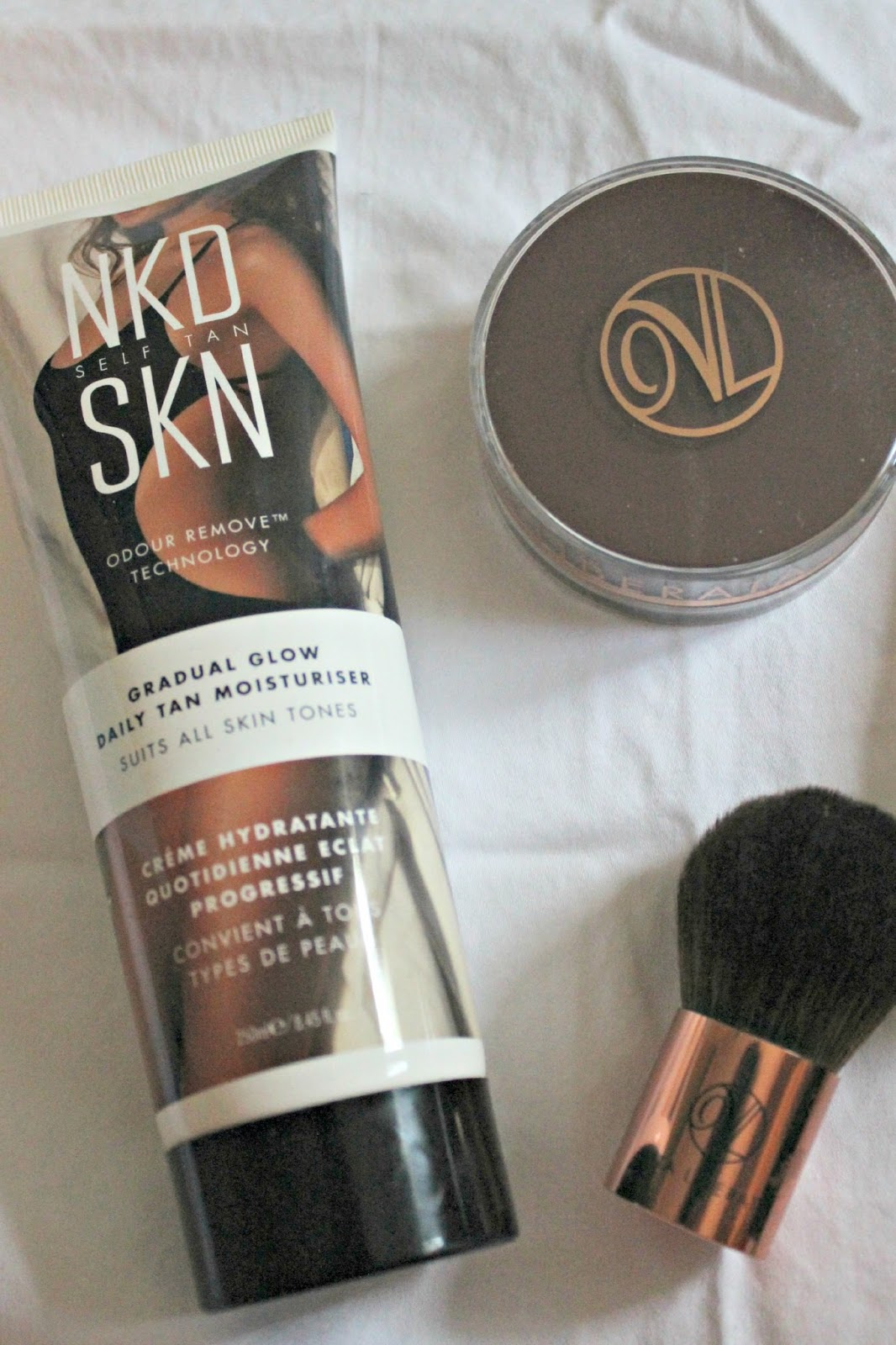 NKD SKN daily tan moisturizer