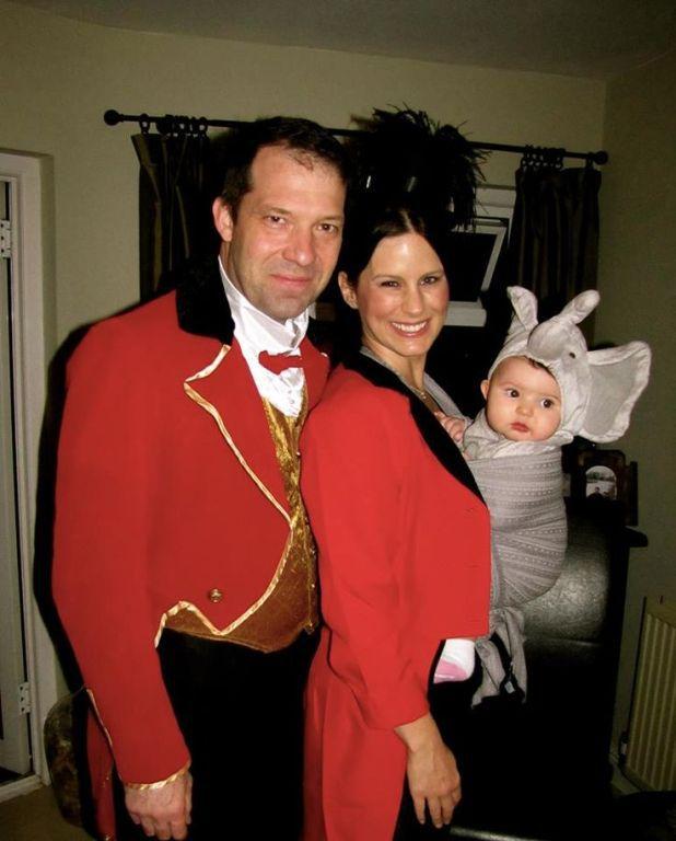 Disfraces en familia con bebé