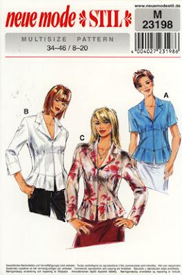 blusa varios modelos de Neue Mode Stil