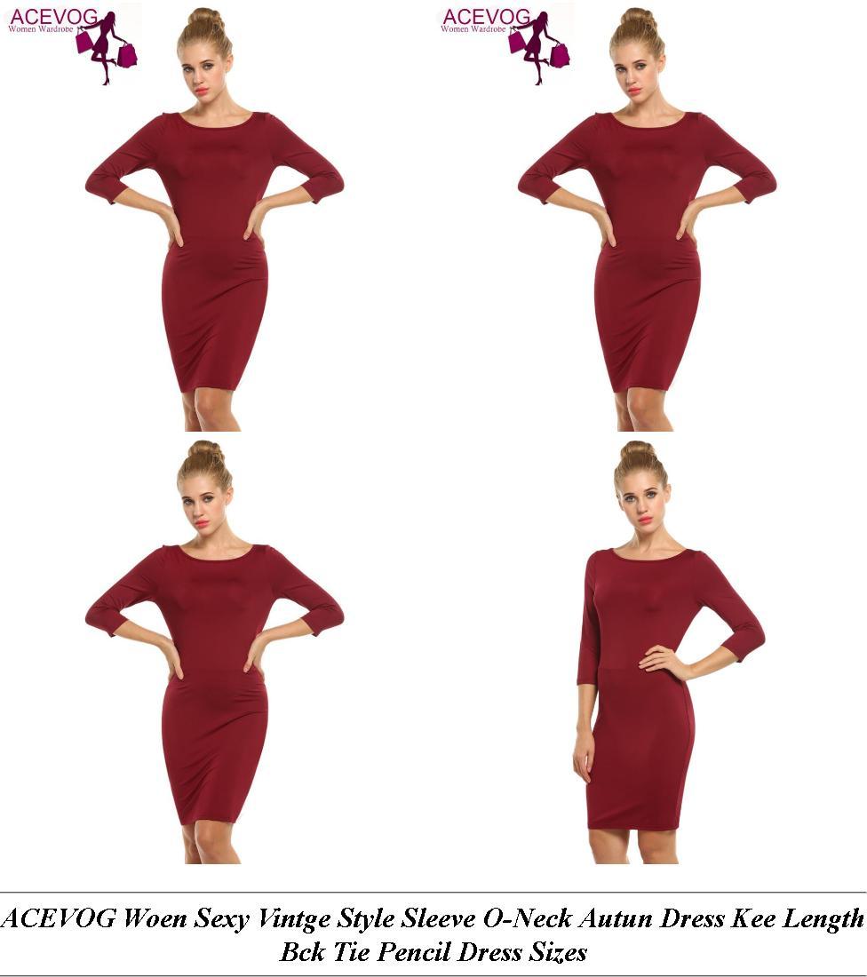 Satin Dresses Long Sleeve - Vintage Inspired Clothing Uk - Elegant Evening Dresses For Over