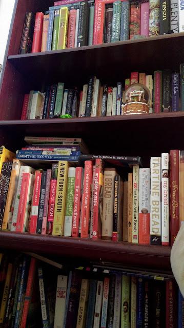 bookshelf - read titles only