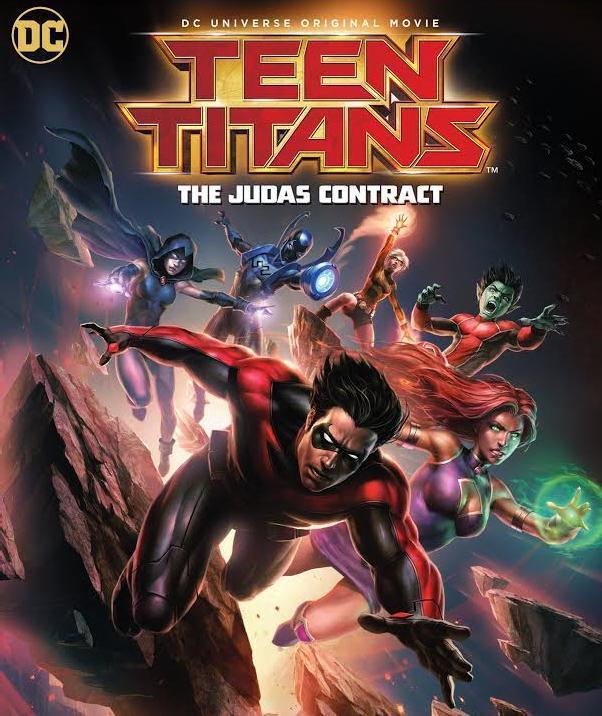 Teen Titans: The Judas Contract [2016] [DVDR] [NTSC] [Latino]