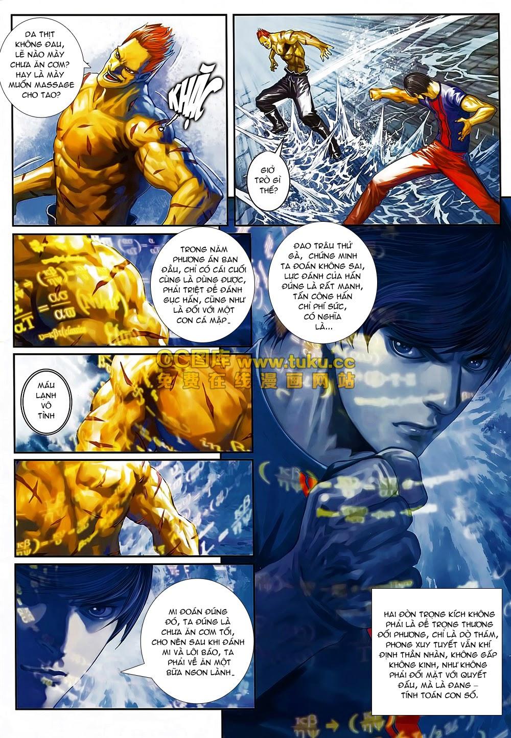 Quyền Đạo chapter 6 trang 6