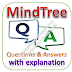 MindTree Written Test: Aptitude, Reasoning, English; Questions and Answers with Explanations