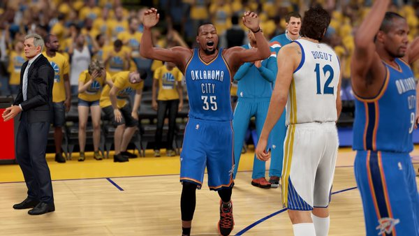 Golden State Warriors vs Oklahoma City Thunder Western Conference Finals
