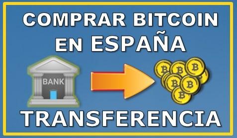 Comprar BTC España Transferencia