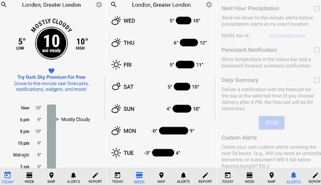 9 Aplikasi Cuaca dan Widget Terbaik  untuk Android. 3