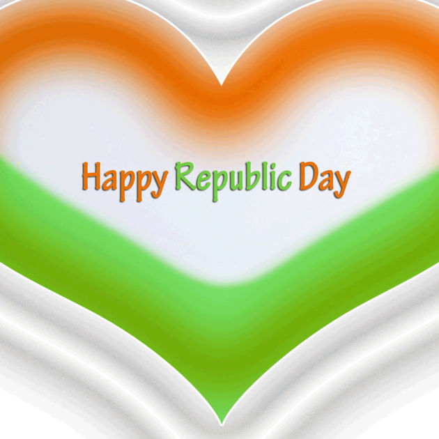 Republic Day best heart image pictures