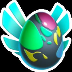 Apariencia del Dragón Ovi de huevo.