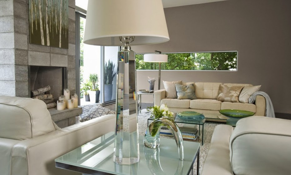 10 ideas de decoraci n para salas en gris - Salones en tonos grises ...