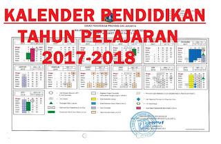 Download Kalender Pendidikan/Akademik Tahun 2017-2018