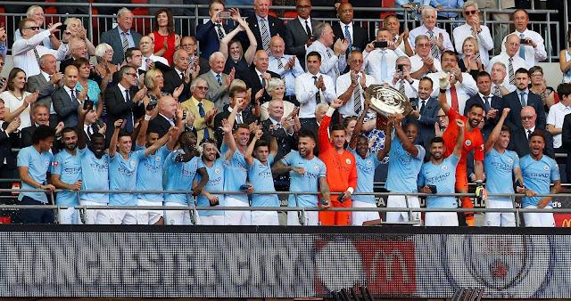 Manchester City Juara Piala Perisai Komuniti
