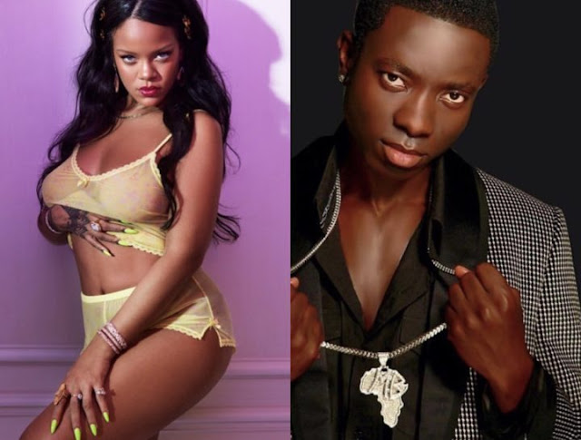 Rihanna finally replies Micheal Blackson's Dms