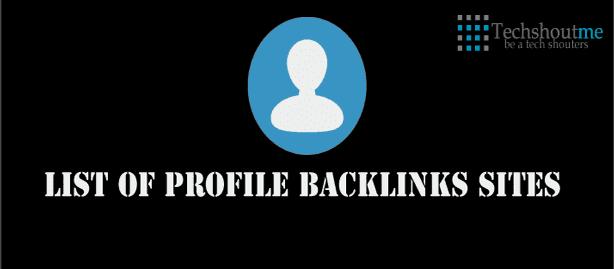 profile backlinks list