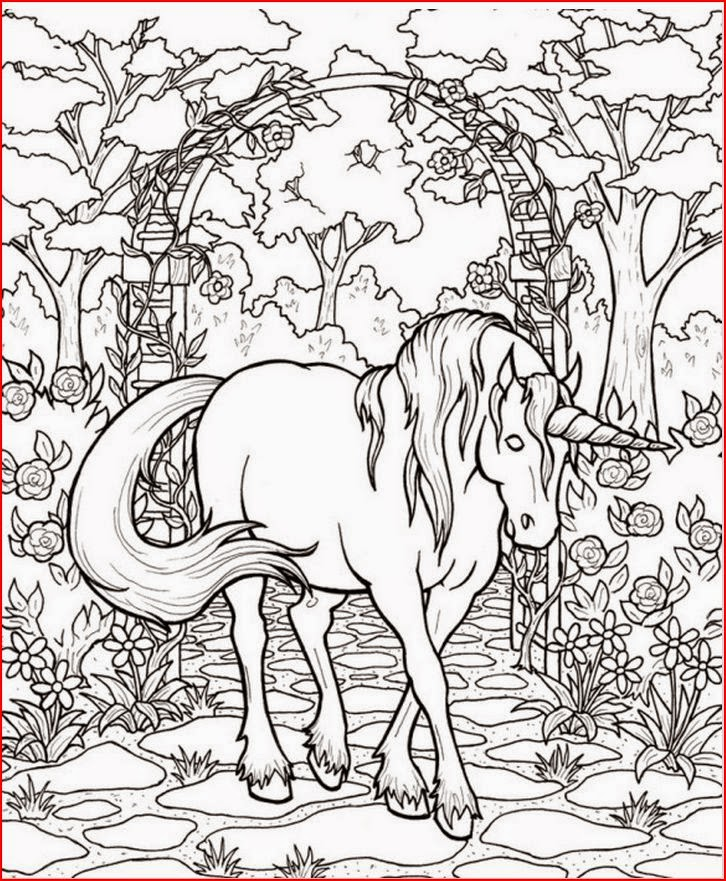 hard coloring pages for free - photo#36