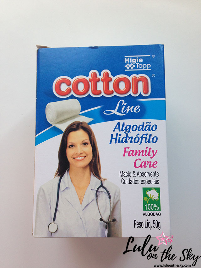 Review Cotton Line Algodão Hidrófilo Family Care
