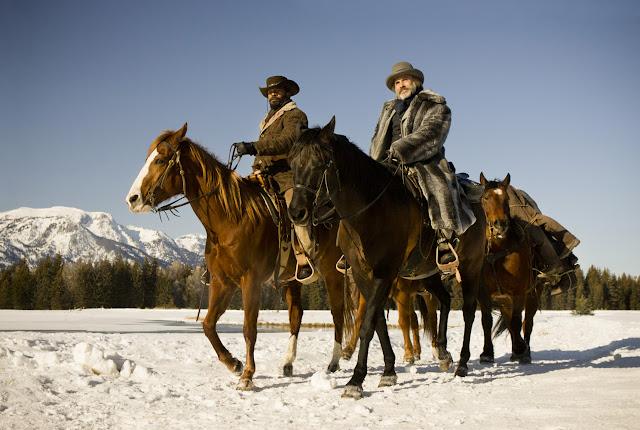 Django Unchained film still - Jamie Foxx and Christoph Waltz