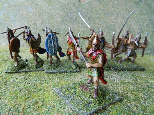 Painting Expeditionary Force 54mm figures Ancient Greeks - Thracians Persians - part3 - finished