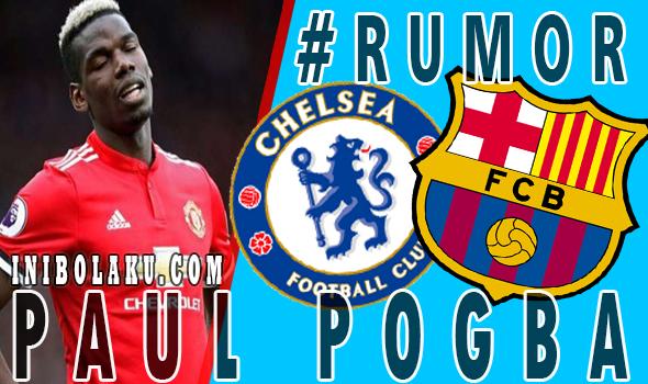 MU Beri Dua Opsi Untuk POGBA, Barcelona Atau Chelsea?