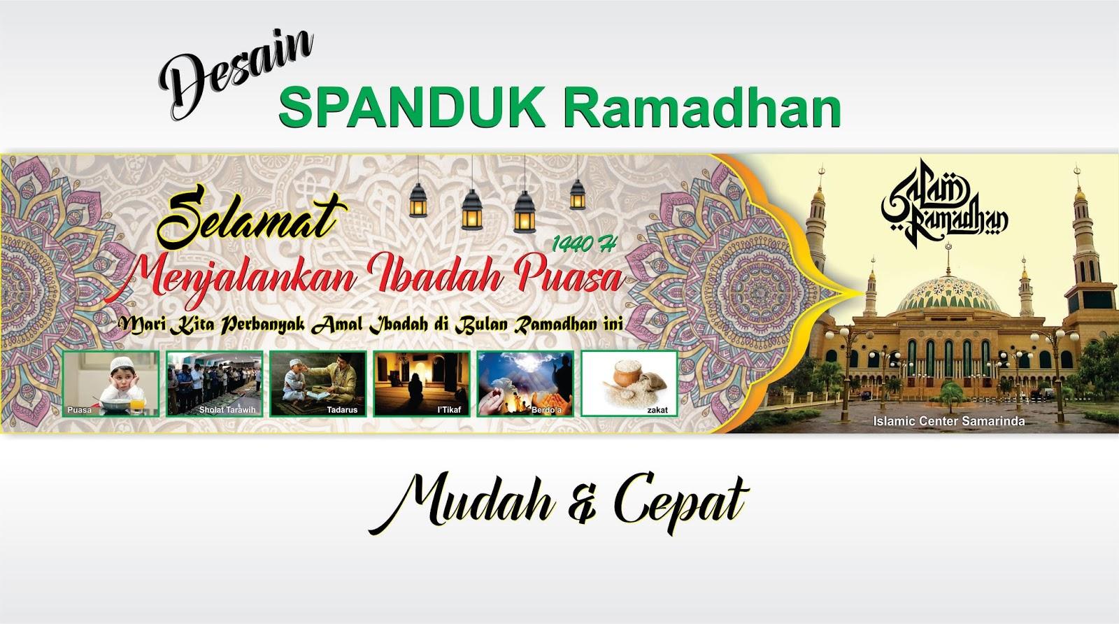 Spanduk Ucapan Ramadhan 2019 - Nusagates