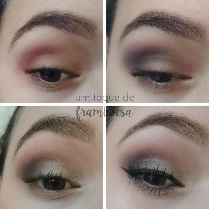 Tutorial de maquiagem usando a sombra unitária Luisance Bege 475