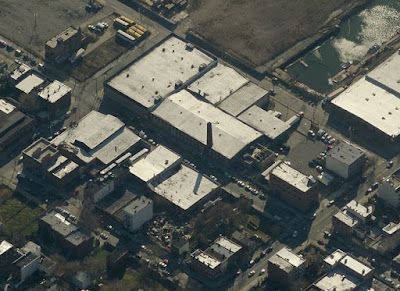 Current bird's eye view of Brooklyn Clay Retort and Fire Brick Works complex