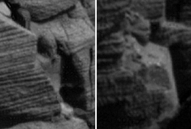 HAS NASA DISCOVERED AN ANNUNAKI STATUE ON MARS?