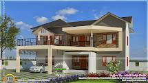 Elegant Modern House Exterior Design