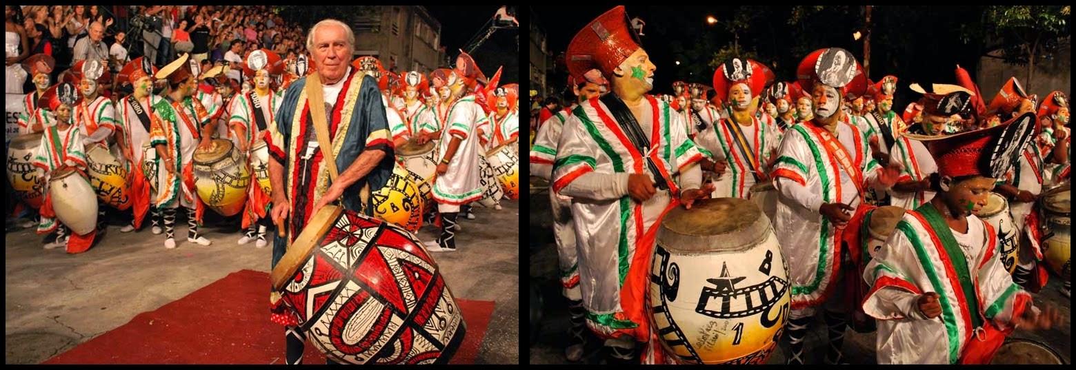 Carnaval. Desfile de Llamadas. Montevideo.C1080.Carlos Páez Vilaró. 2010.