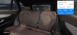 Nội thất Mercedes AMG GLC 43 4MATIC 2019 màu Nâu Espresso 224