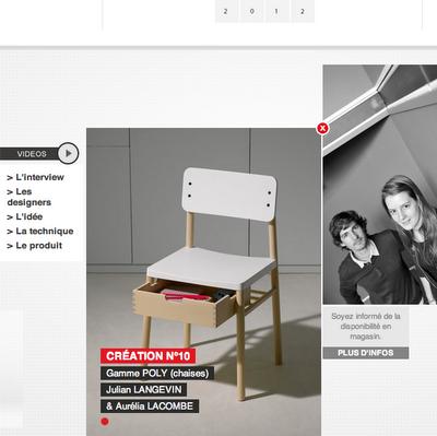 un nouveau regard fly aime le design. Black Bedroom Furniture Sets. Home Design Ideas