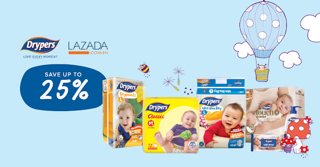 Lazada Birthday Sale Diapers