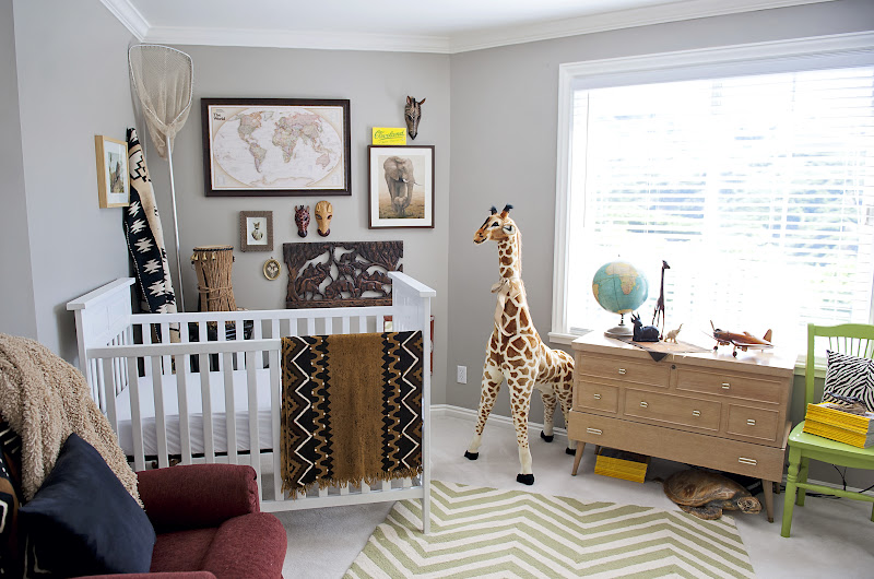 The Bergesons: James' Safari Nursery