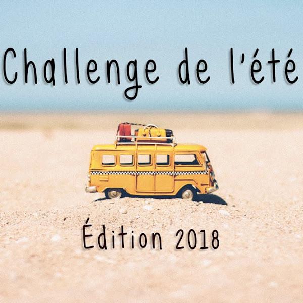 [Challenge] Le challenge lecture de l'été 2018