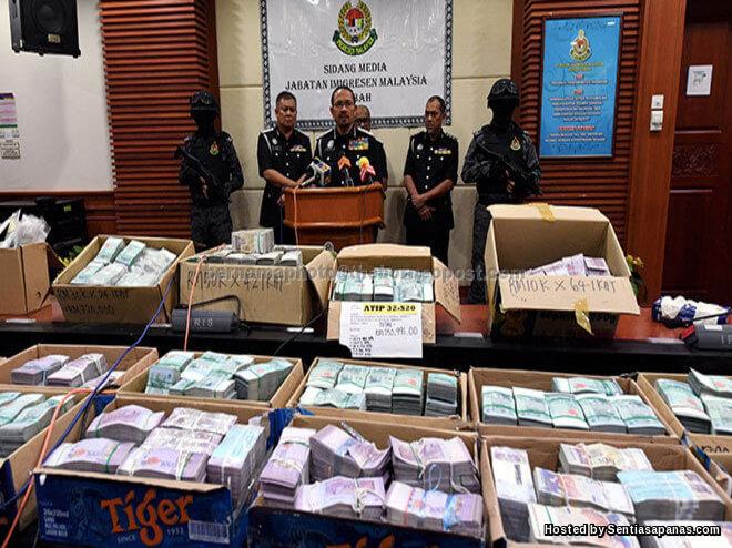 Rampasan RM13.5 juta sabah