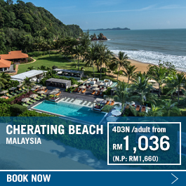 Club Med Cherating Beach promotion